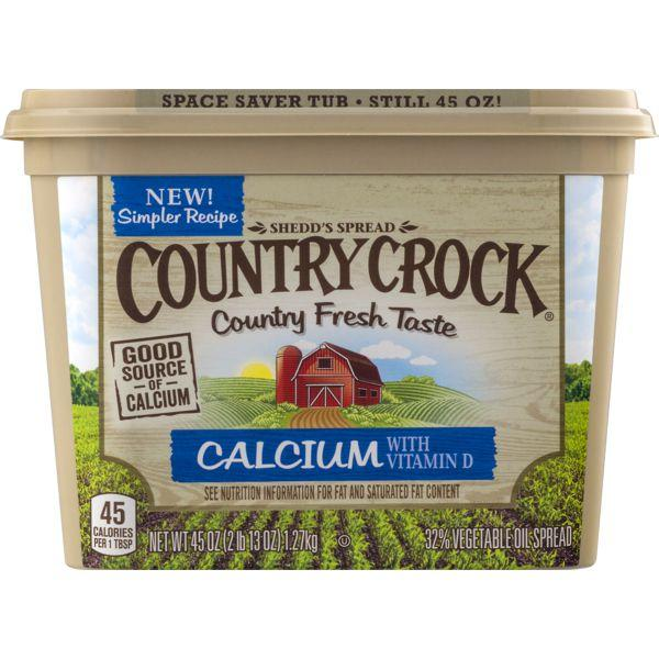 Country Crock Buttery Spread Calcium MirchiMasalay