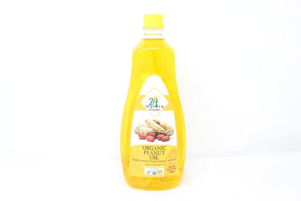 24 Mantra Organic Peanut Oil MirchiMasalay