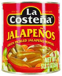 Lacostena Whole Jalapenos MirchiMasalay