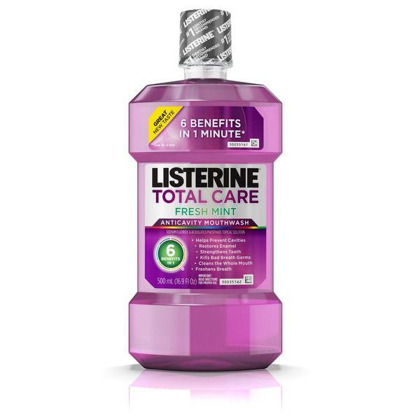 Listerine Total Care Anticavity Mouthwash, Fresh Mint MirchiMasalay
