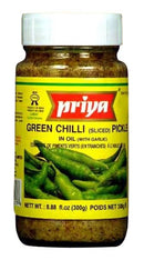 Green Chilli Pickle With Garlic) MirchiMasalay