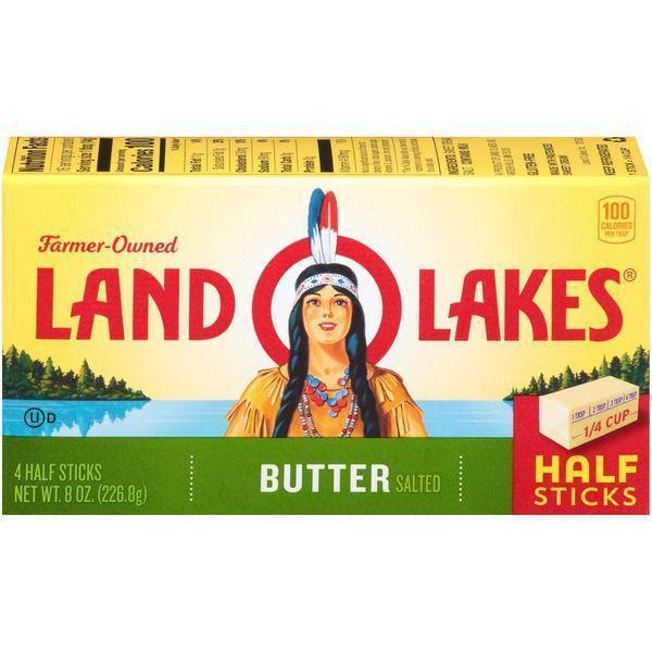 Land O Lakeså¨ Salted Land O Lakes Salted Butter ( 4 Half Sticks) MirchiMasalay