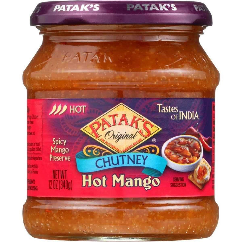 Patak's Hot Mangoe Chutney - MirchiMasalay