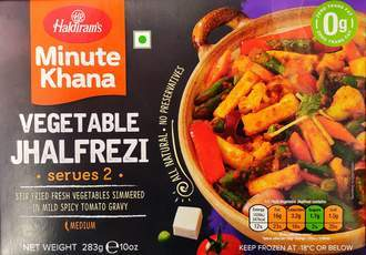 Haldiram's Vegetable Jhalfrezi Minute Khana MirchiMasalay