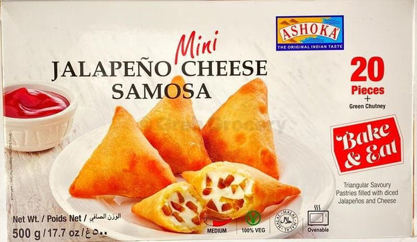 Ashoka Jalalpeno Cheese Samosa (20pcs) MirchiMasalay