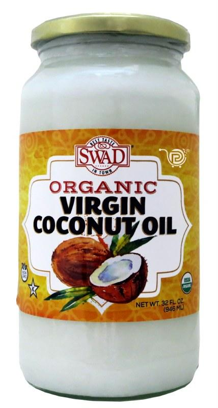 Swad Organic Virgin Coconut Oil - MirchiMasalay