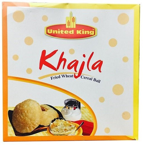 United King Khajla Fried Wheat Cereal Ball