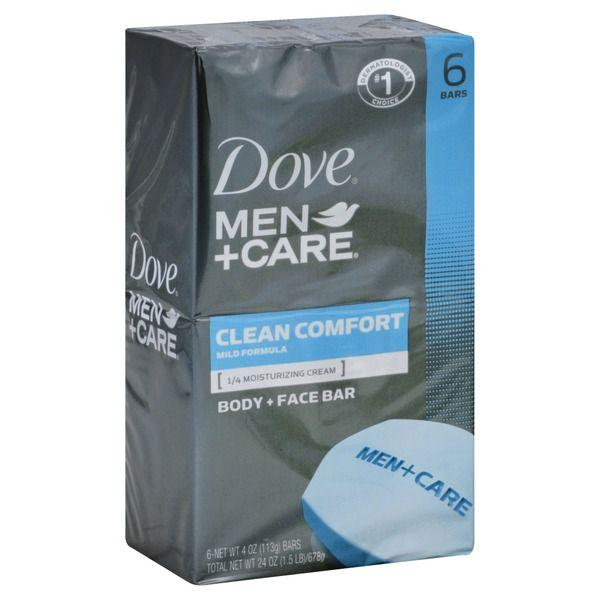 Dove Men+care Body Soap And Face Bar Clean Comfort MirchiMasalay
