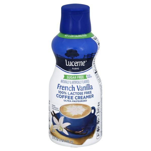 Lucerne Coffee Creamer, Sugar Free French Vanilla MirchiMasalay