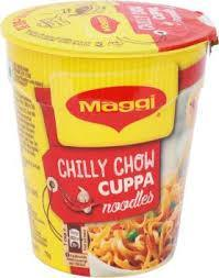 Maggi Chilli Chow Cup Noodles - MirchiMasalay