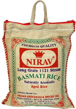 Nirav Long Grain Basmati Rice Rice Kamdar