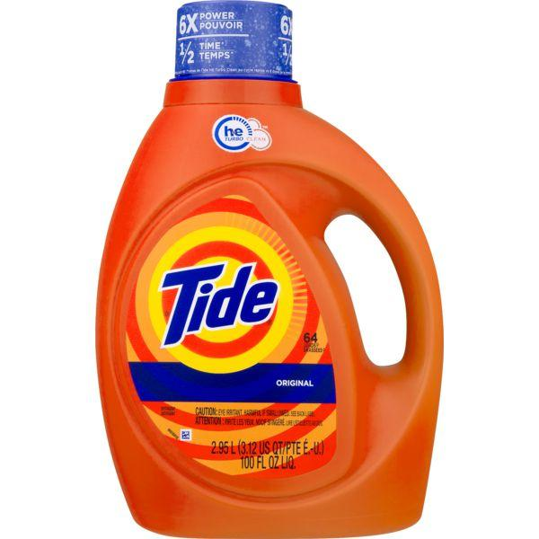 Tide Original Scent HE Turbo Clean Liquid Laundry Detergent MirchiMasalay