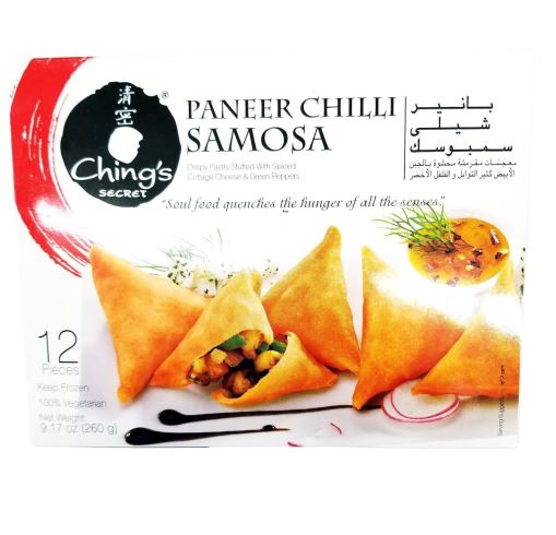 Ching's Paneer Chilli Samosa MirchiMasalay