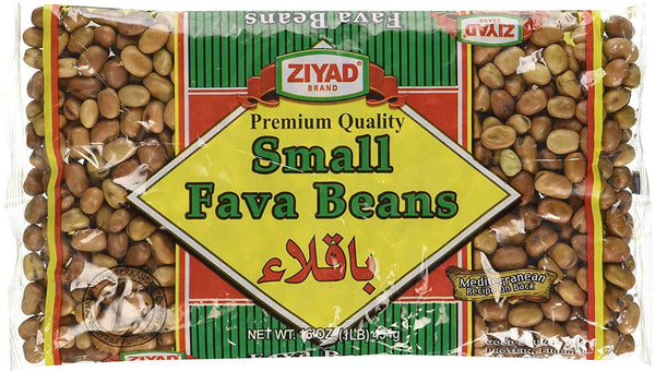Ziyad Small Fava Beans MirchiMasalay