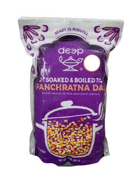 Deep Soaked & Boiled Panchratna Dal MirchiMasalay