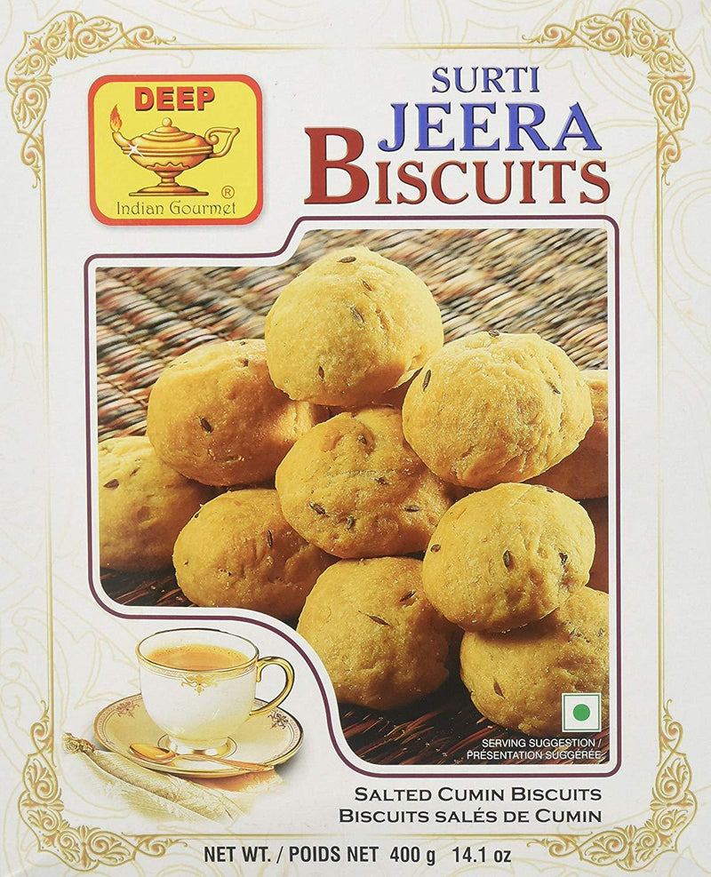 Surti Jeera Biscuits - MirchiMasalay