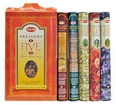 Precious Five Incense Festival Pack MirchiMasalay