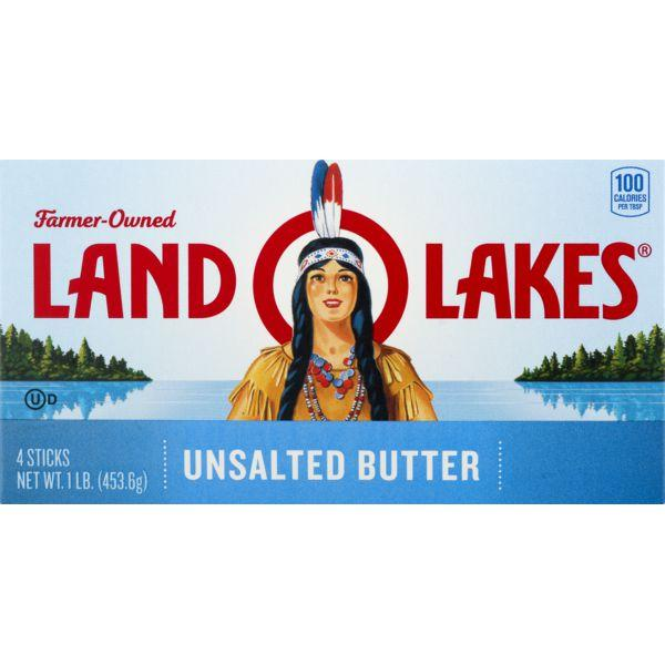 Land O' Lakes Unsalted Butter Sticks MirchiMasalay