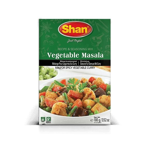 Vegetable channa masala spices MirchiMasalay