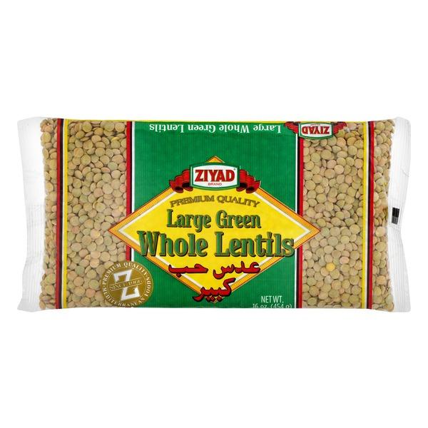 Ziyad Large Green Whole Lentil MirchiMasalay