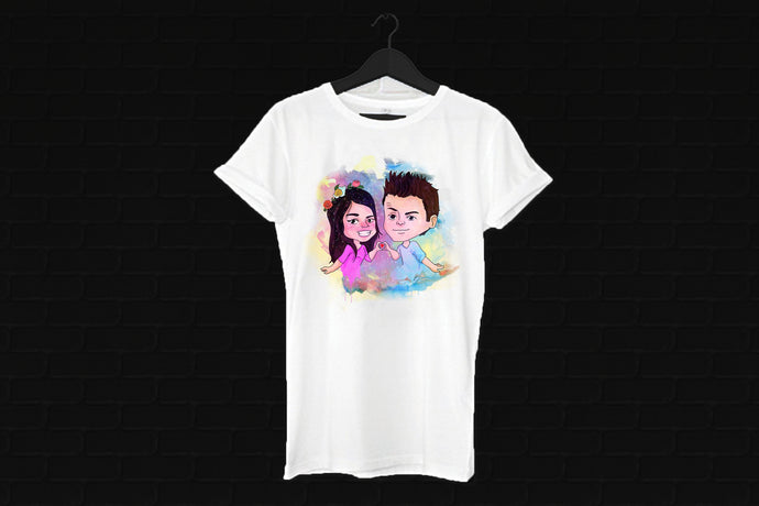 Dwanta Water Color Tee