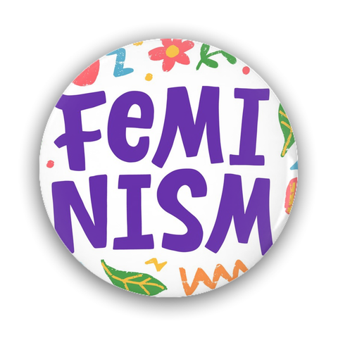 Feminism Pin-Back Buttons