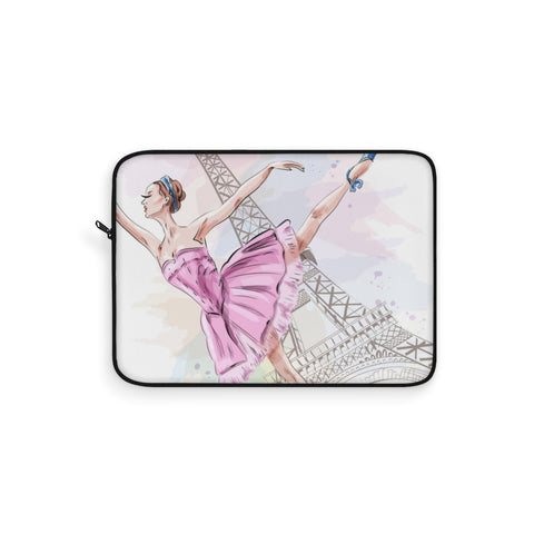Parisian Ballerina Laptop Sleeve