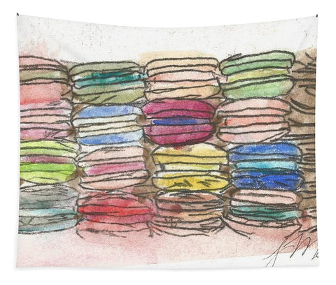 A Feast Of Macarons - Tapestry