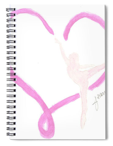 Balletic Heart - Spiral Notebook