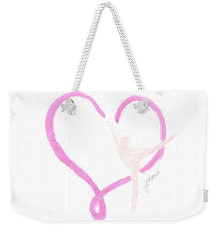 Balletic Heart - Weekender Tote Bag