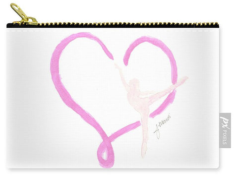 Balletic Heart - Carry-All Pouch