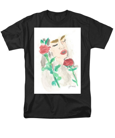 Drowning Rose - Men's T-Shirt  (Regular Fit)