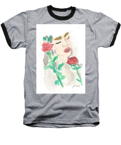 Drowning Rose - Baseball T-Shirt