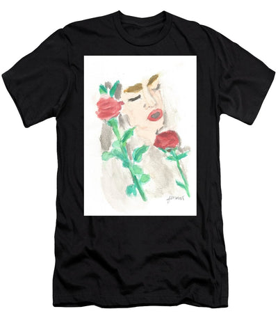 Drowning Rose - Men's T-Shirt (Athletic Fit)