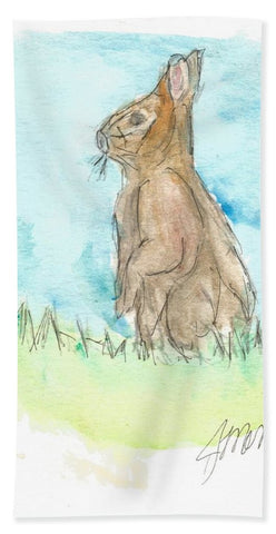 Easter Bunny - Bath Towel