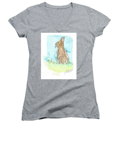 Easter Bunny - Women's V-Neck