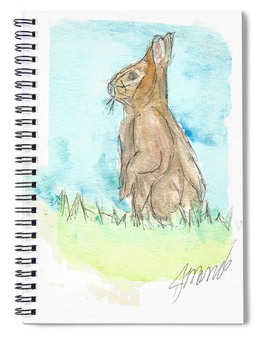 Easter Bunny - Spiral Notebook