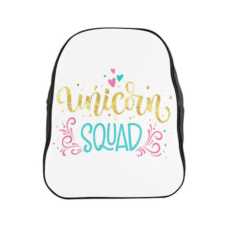 Unicorn Squad School Backpack