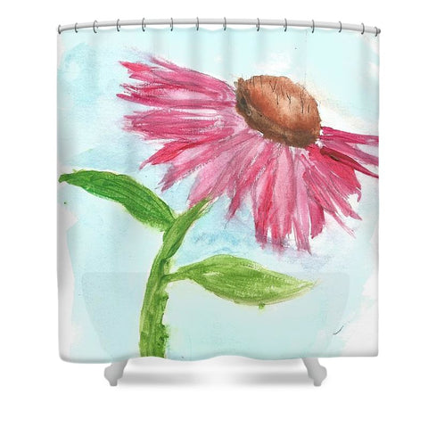 Echinacea - Shower Curtain