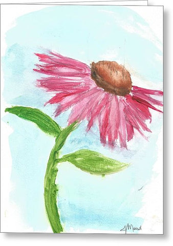 Echinacea - Greeting Card