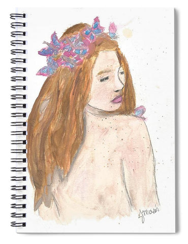 Fairy Queen - Spiral Notebook