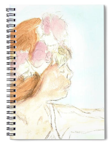 Flights She Fancied - Spiral Notebook