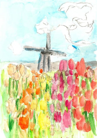 Holland In Spring - Art Print