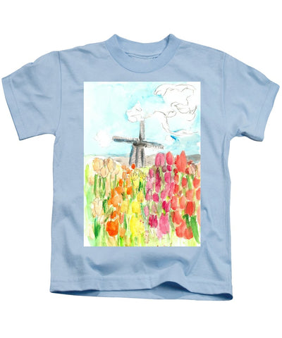 Holland In Spring - Kids T-Shirt