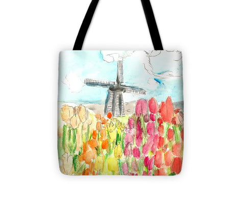 Holland In Spring - Tote Bag
