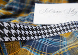 Houndstooth Ribbon Headband