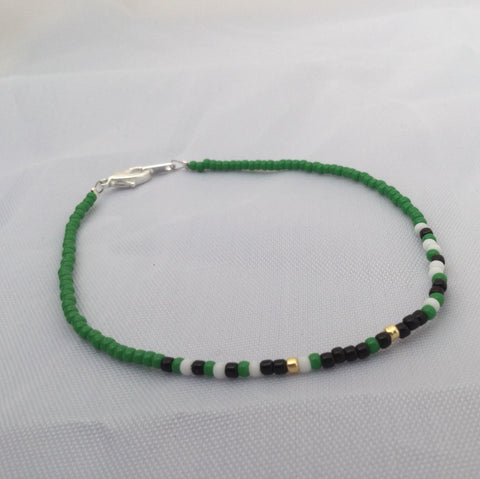 End the Stigma Morse Code Bracelet