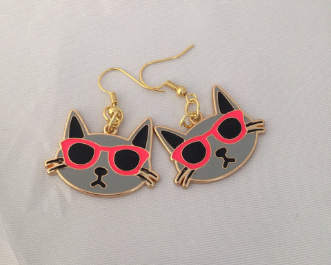 Incognito Kitty Earrings