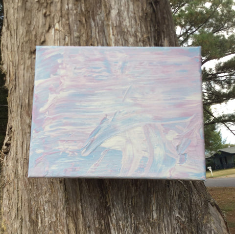 'Bubblegum Cloud' Painting