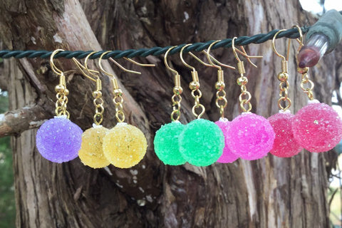 Gumdrop earrings
